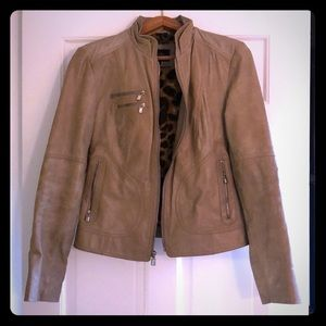 Laundry by Shelli Segal Leather Jacket
